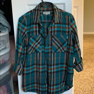 VANS flannel shirt Size Large